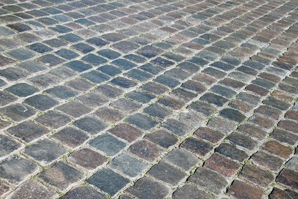 Cobble stones - Stock Photo - Images