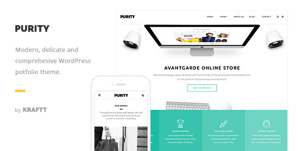 Purity – Responsive Multi-Purpose WordPress Theme