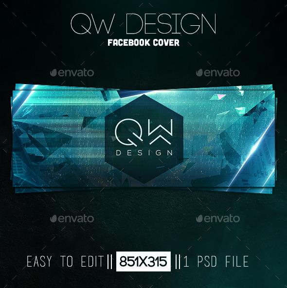 QW Design Facebook Cover - Facebook Timeline Covers Social Media
