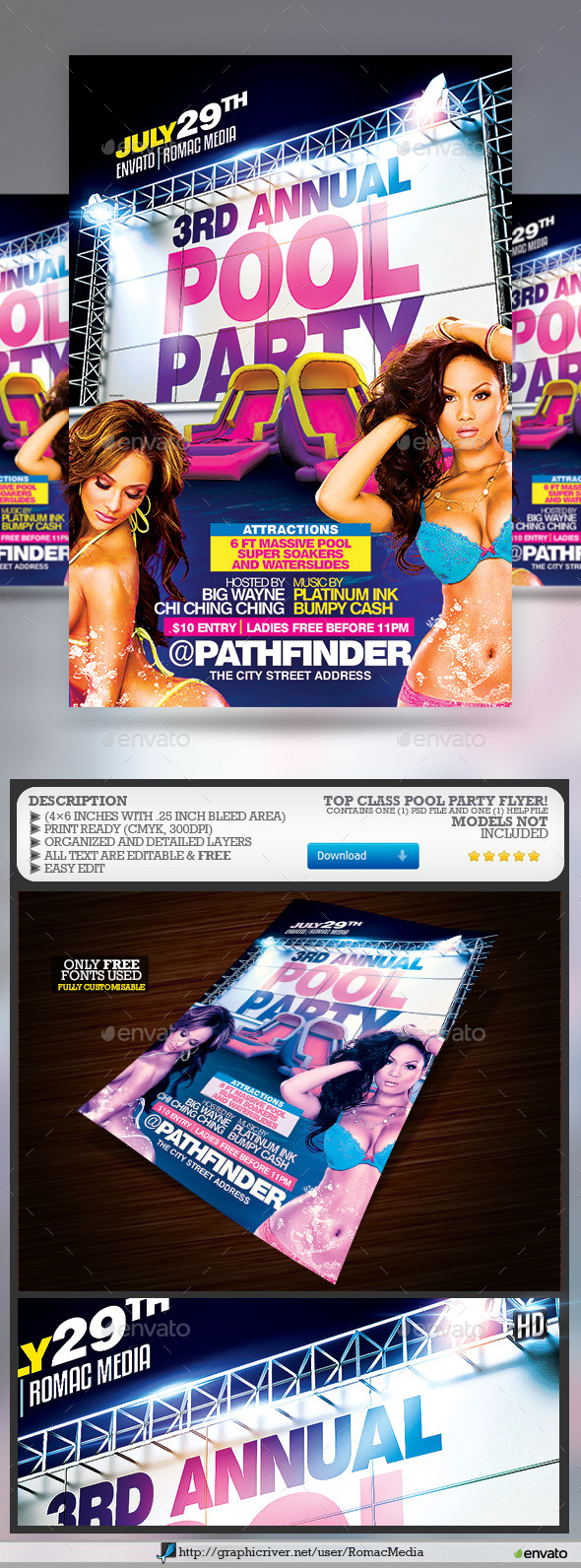 Pool Party - Clubs & Parties Events