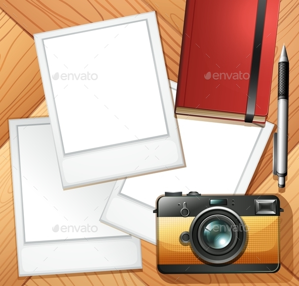 Camera and Photo Frames - Miscellaneous Conceptual