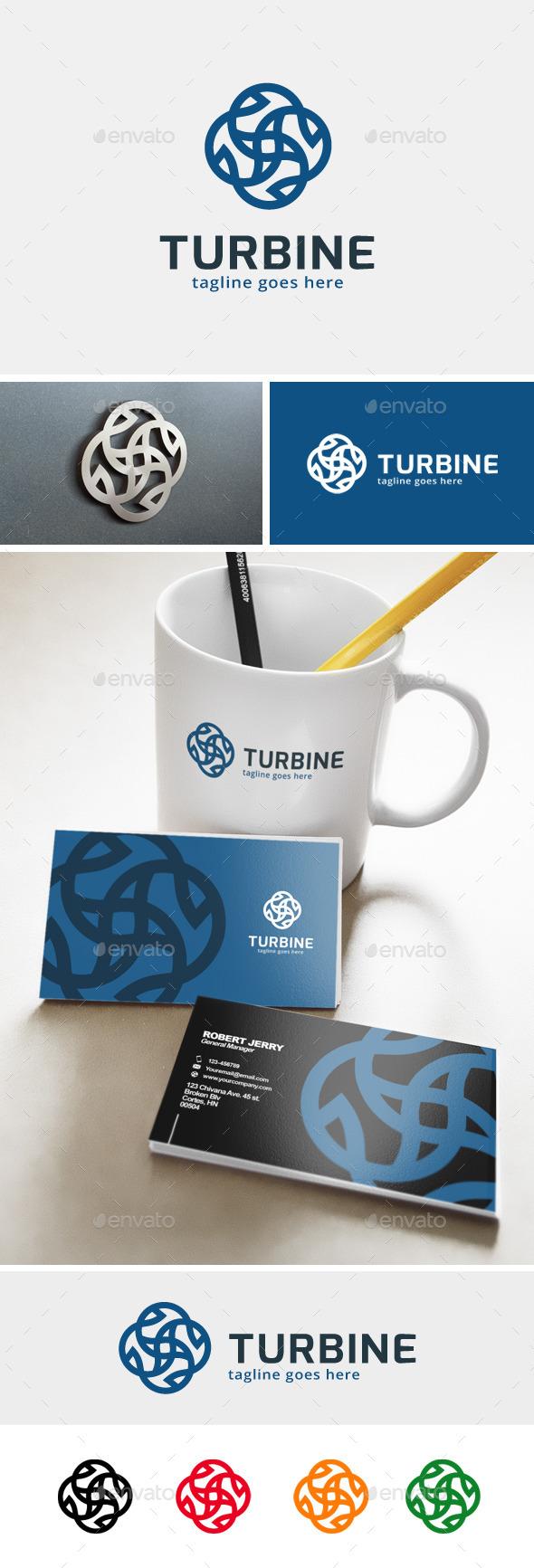 Turbine Logo  - Abstract Logo Templates