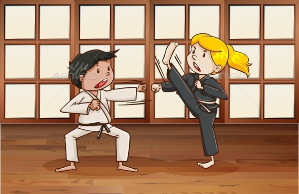 Martial Arts - People Characters