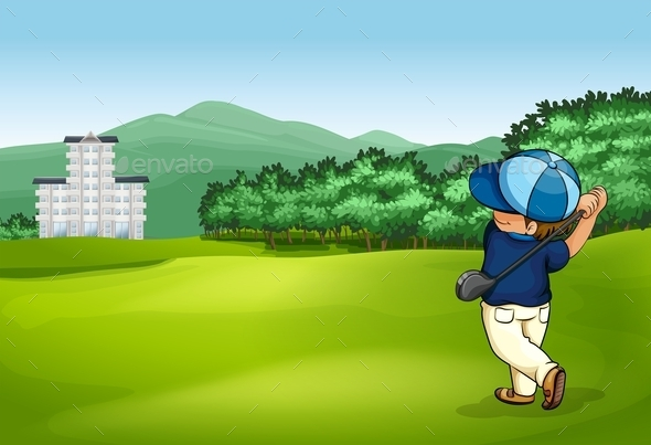 Golfer - People Characters