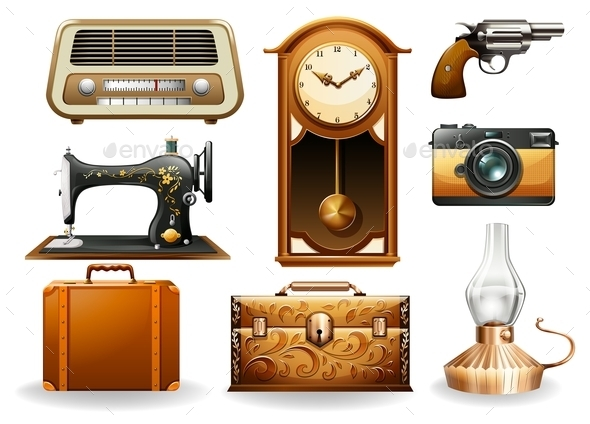 Vintage Set - Miscellaneous Vectors