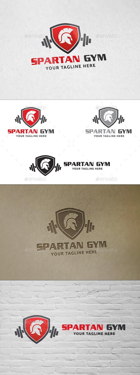 Spartan Gym - Logo Template - Humans Logo Templates