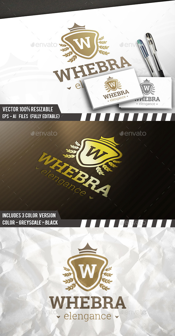 Wheat Brand Logo - Crests Logo Templates