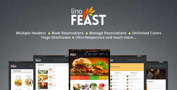 Best 18+ Catering WordPress Themes 2019 15