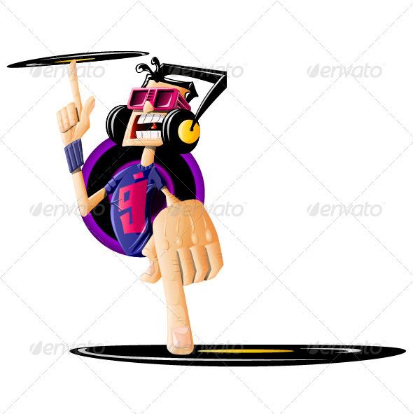 DJ - People Characters