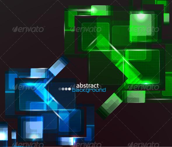 Futuristic background - Abstract Conceptual