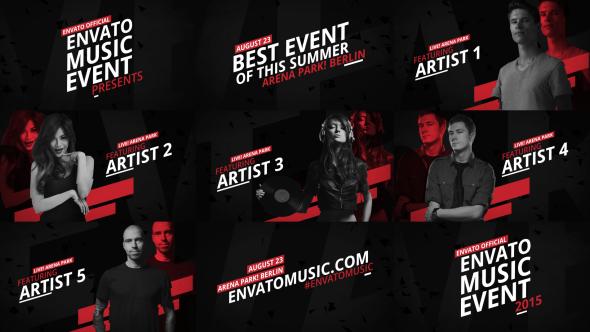 Music Event Promo - 12104637