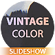 Vintage Color Slideshow - VideoHive Item for Sale