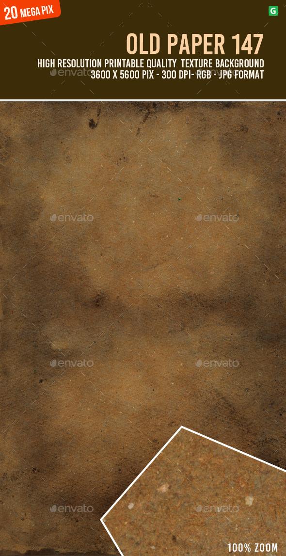 Old Paper 147 - Paper Textures