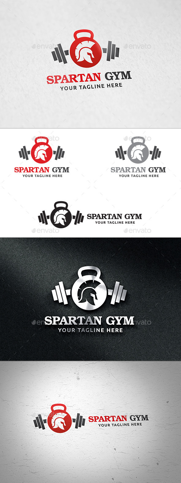 Spartan Gym - Logo Template - Objects Logo Templates