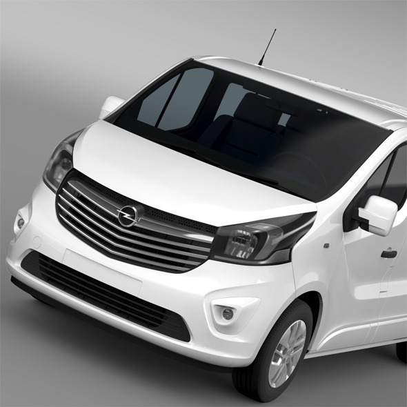 Opel Vivaro Biturbo 2015 - 3DOcean Item for Sale