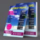 World Travel Magazine Template - GraphicRiver Item for Sale