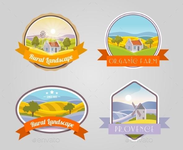 Rural Landscape Set - Landscapes Nature