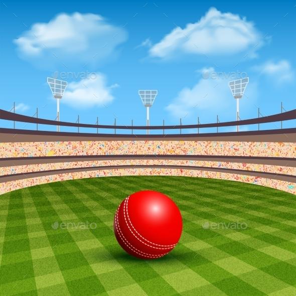 Stadium of Cricket - Sports/Activity Conceptual