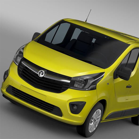 Vauxhall Vivaro 2015 - 3DOcean Item for Sale