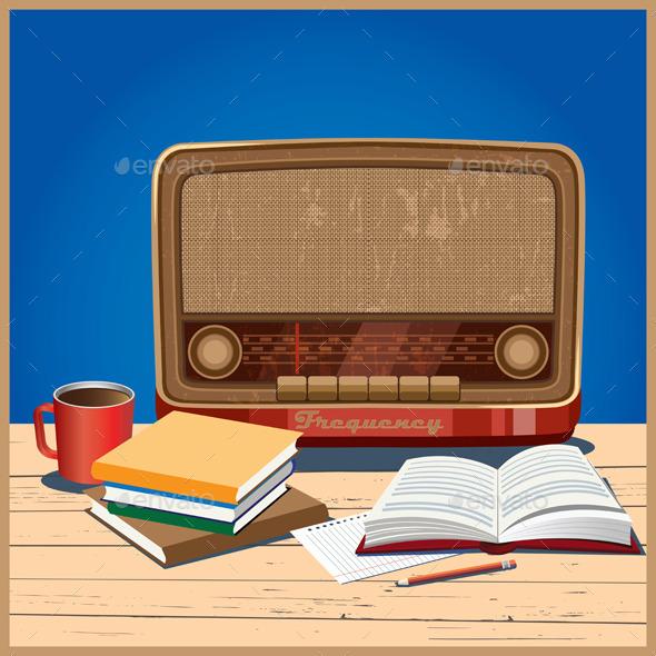 Old Radio - Retro Technology