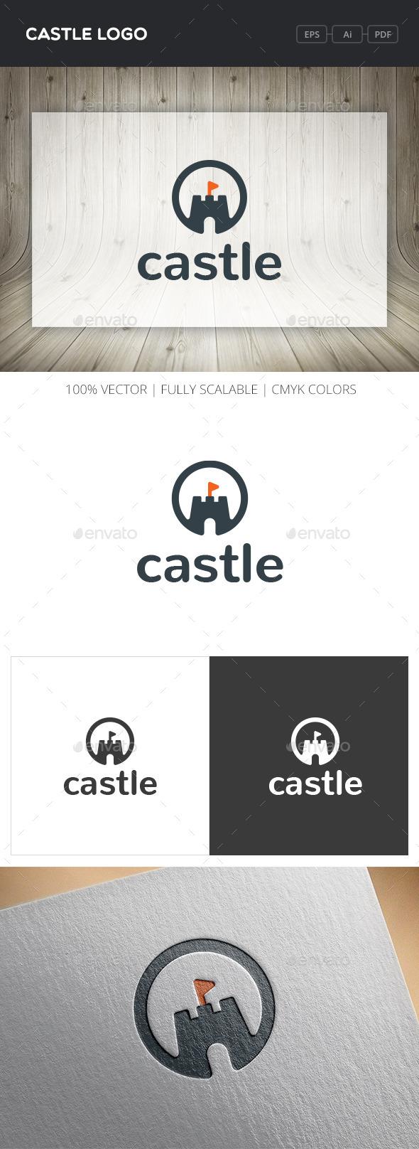 Castle Logo - Buildings Logo Templates