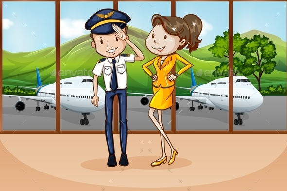 Cabin Crew - People Characters