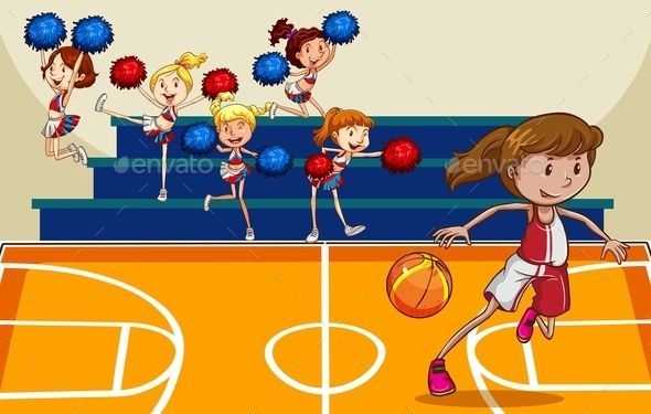 Basketball - People Characters
