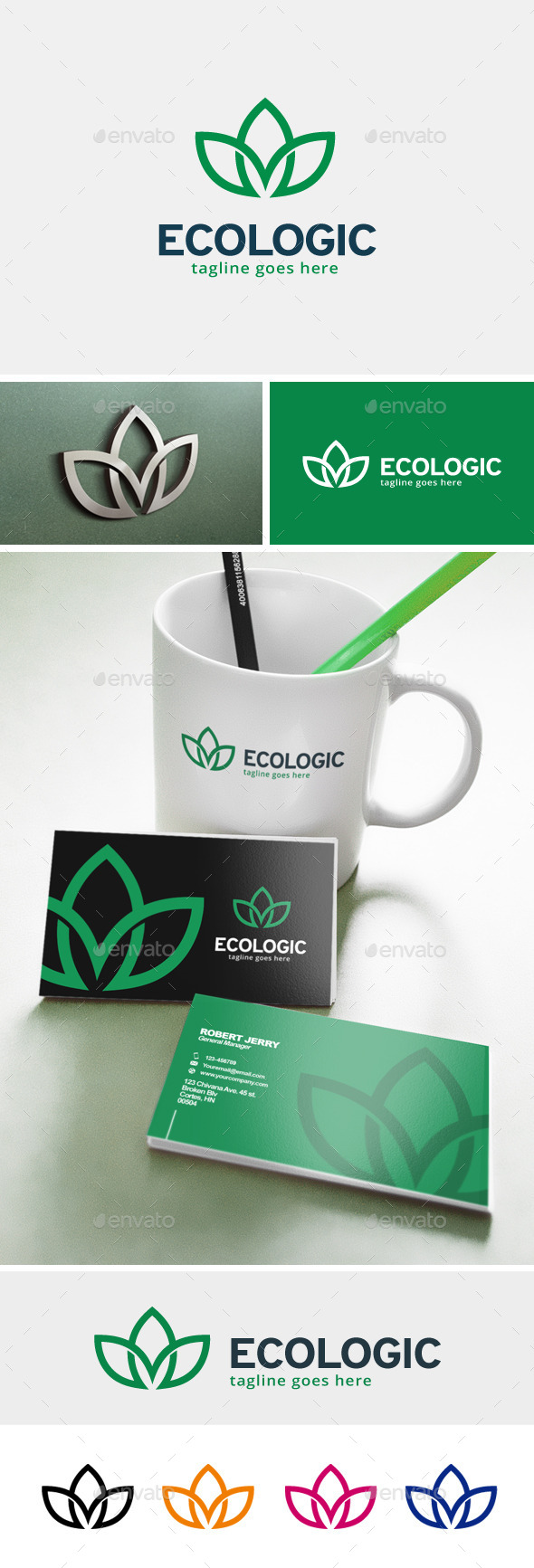 Ecologic Logo - Nature Logo Templates
