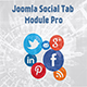 Joomla Social Tabs Module Pro - CodeCanyon Item for Sale