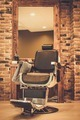 Client's chair in barber shop - PhotoDune Item for Sale