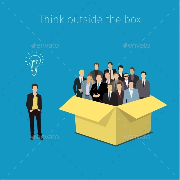 Concept Of Open Minded - Business Conceptual