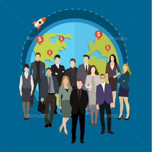 Social Network Concept.  - Conceptual Vectors