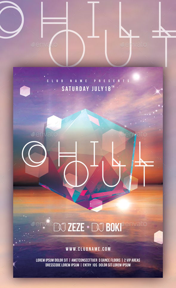 Chill Out - Events Flyers