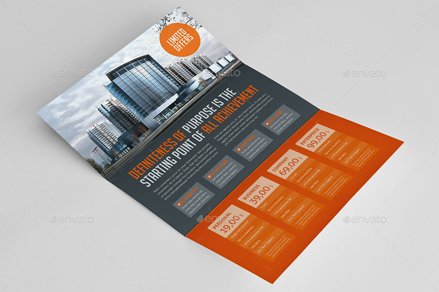 Business Horizontal Sales Flyer by mikinger | GraphicRiver