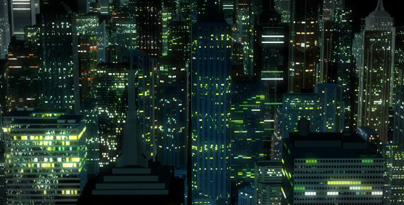Night city flight backgrounds pack by macrologic videohive voltagebd