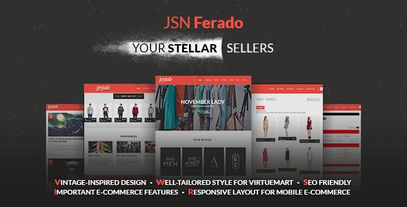 JSN Ferado – Stellar Joomla! e-Commerce Templates