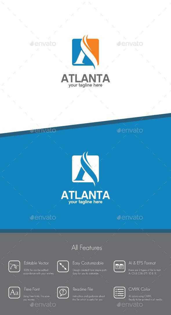 Atlanta - Letter A Logo - Letters Logo Templates