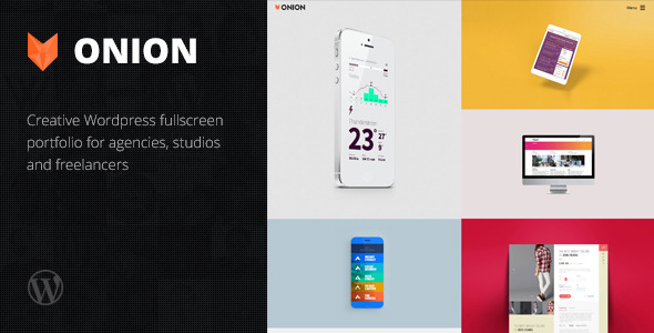 Onion – Responsive WordPress Portfolio Theme