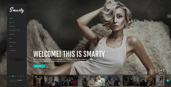 Smarty – Creative Agency &  Portfolio Template