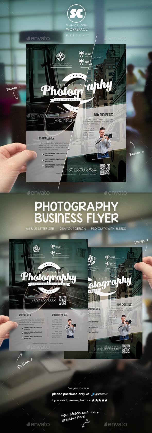 Photography Business Flyer - Miscellaneous Events