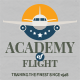 Travel agency or flight school vector logo - GraphicRiver Item for Sale
