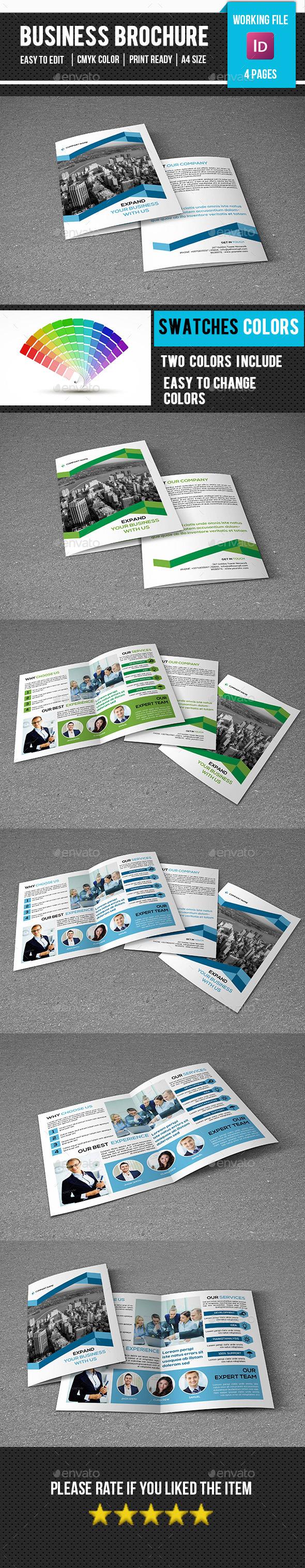 Corporate Bifold Brochure-V276 - Corporate Brochures