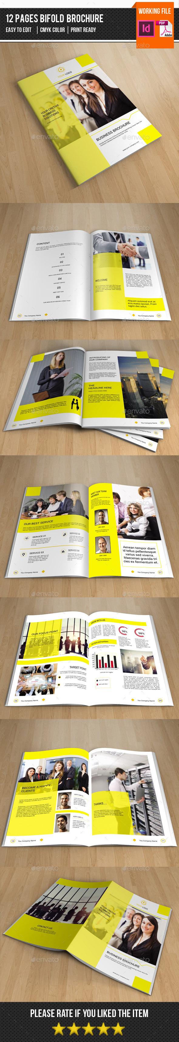 Corporate Brochure Template-v277 - Corporate Brochures