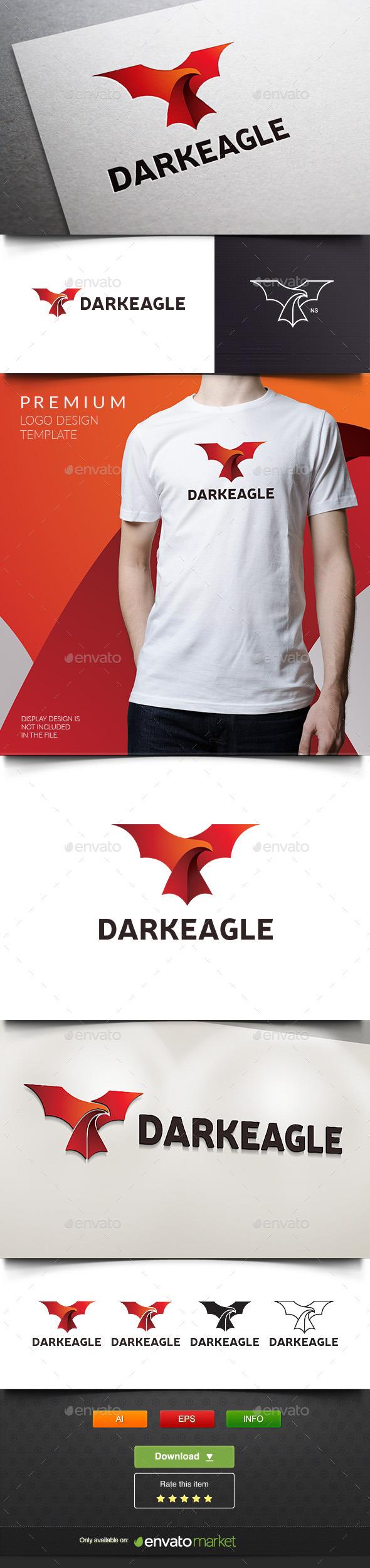 Dark Eagle - Animals Logo Templates