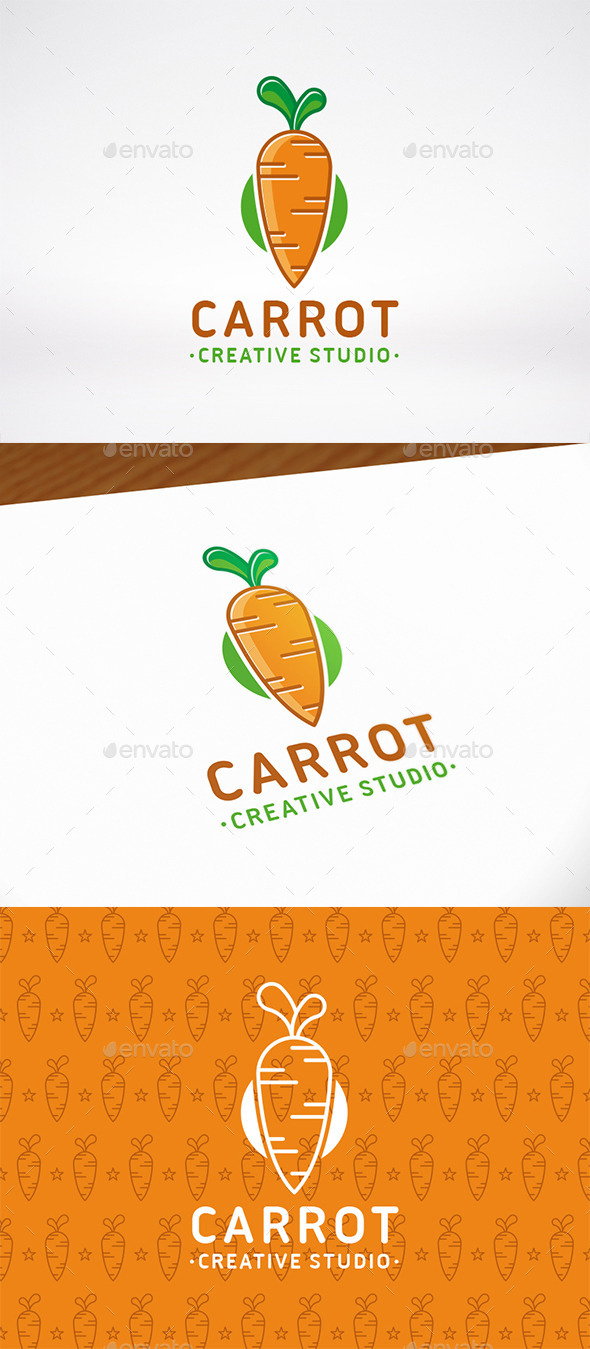 Carrot Logo Template - Food Logo Templates