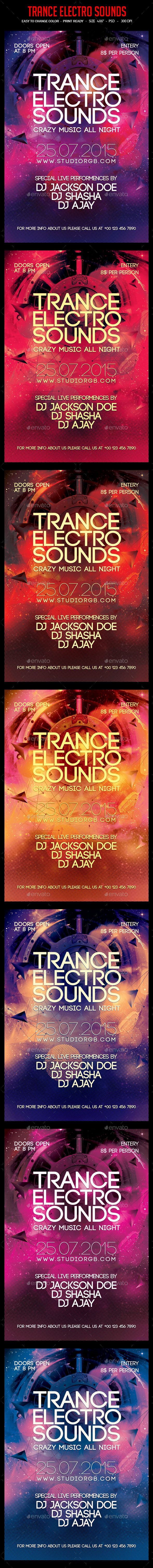 Trance Electro Sounds - Clubs & Parties Events