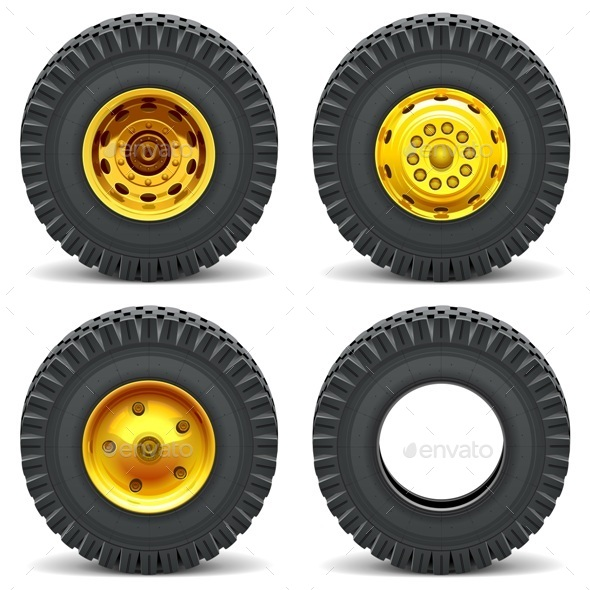 Construction Machines Wheels - Industries Business