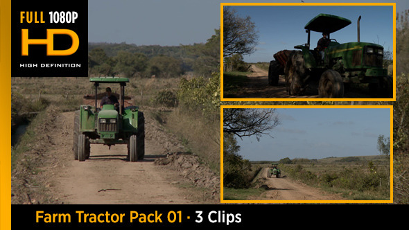 Farm Tractor Pack 01