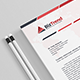 A4 - Business Letterhead V.004 - GraphicRiver Item for Sale