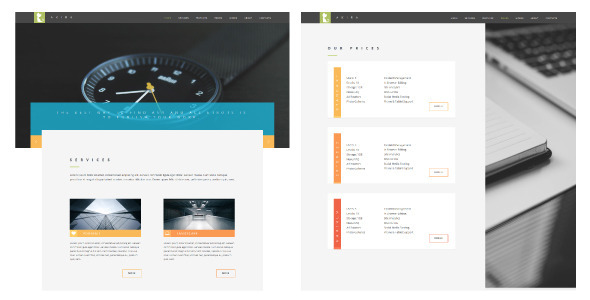 Akira - Corporate Muse Templates